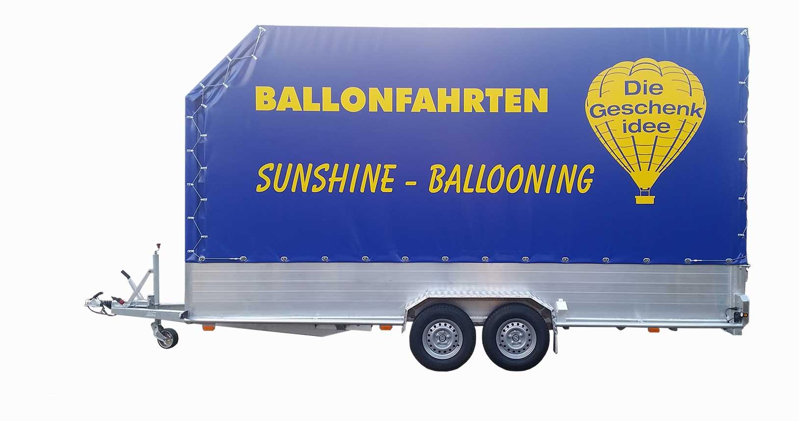 Ballonanhänger einfache Ausführung