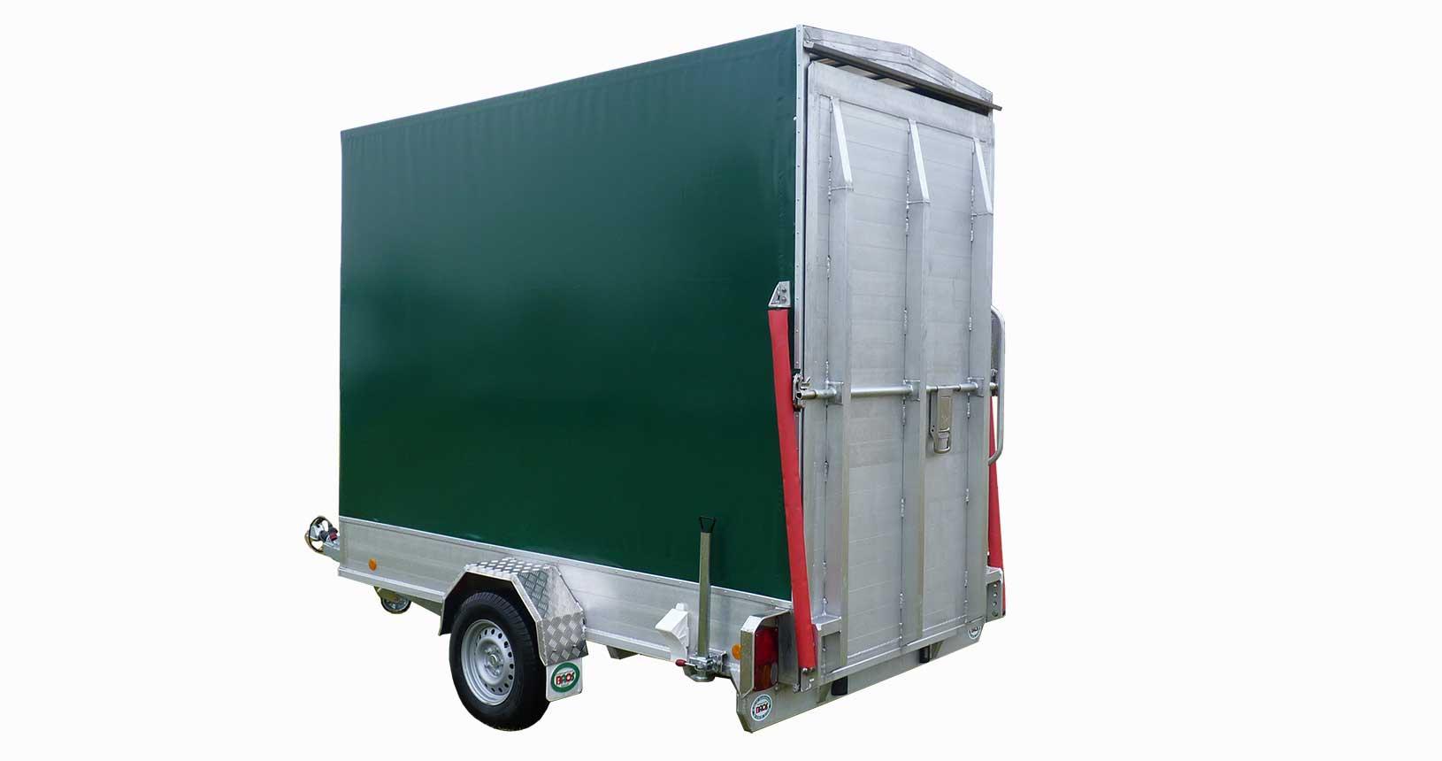 CC-Container Anhänger Einachser