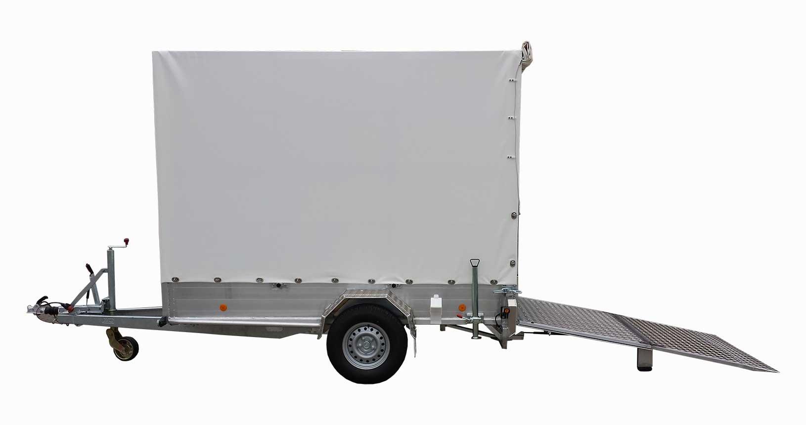 CC-Container Anhänger 4 CC Einachser