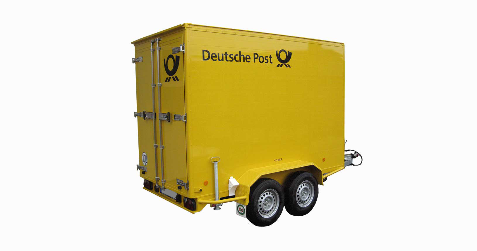 Kofferanhänger Deutsche Post