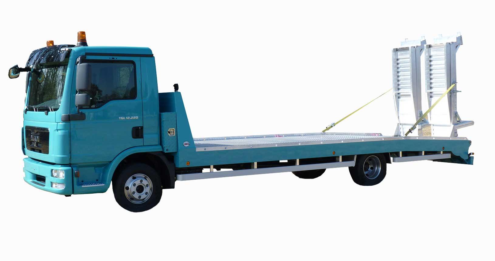 LKW Aufbau 18t Fahrgestell
