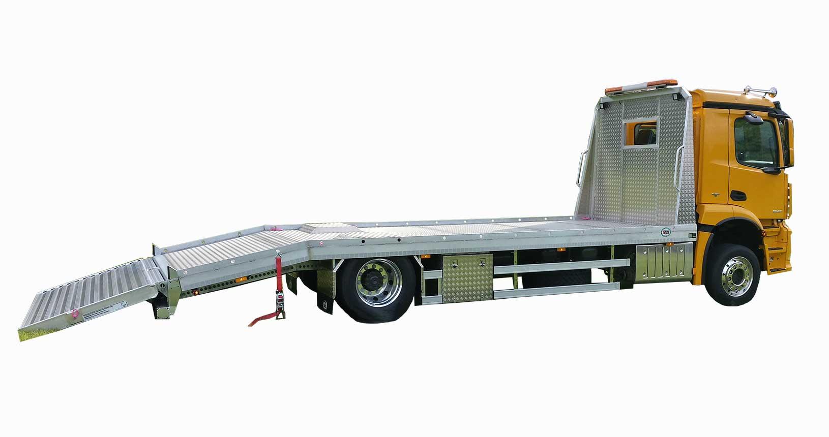 LKW Aufbau Einteillige Heckklappe für mehrspurige Fahrzeuge