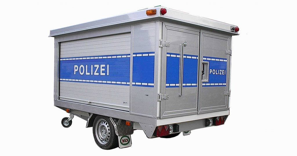 Kofferanhänger Polizei