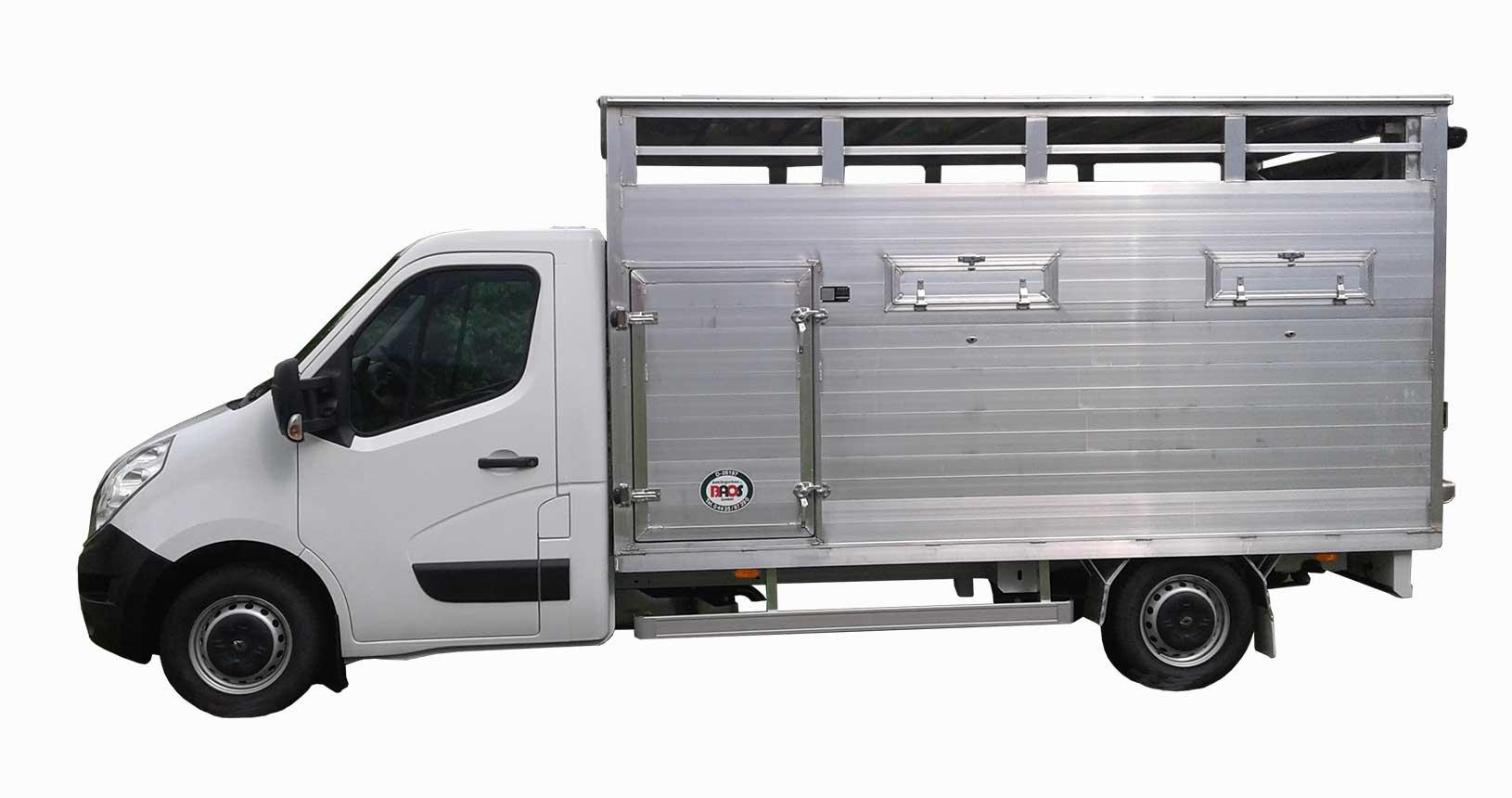 Viehtransporter LKW einfache Ausführung
