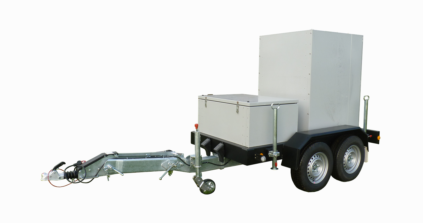 Gerätetransporter Lastwiderstand aufgebaut