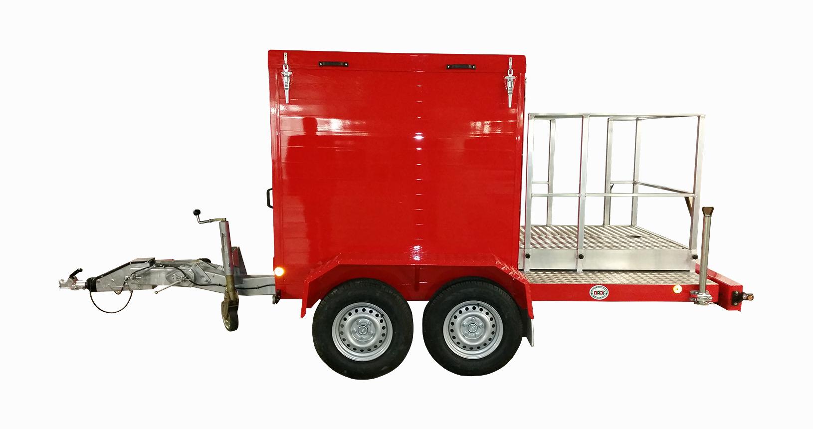 Gerätetransporter mit Kofferaufbau