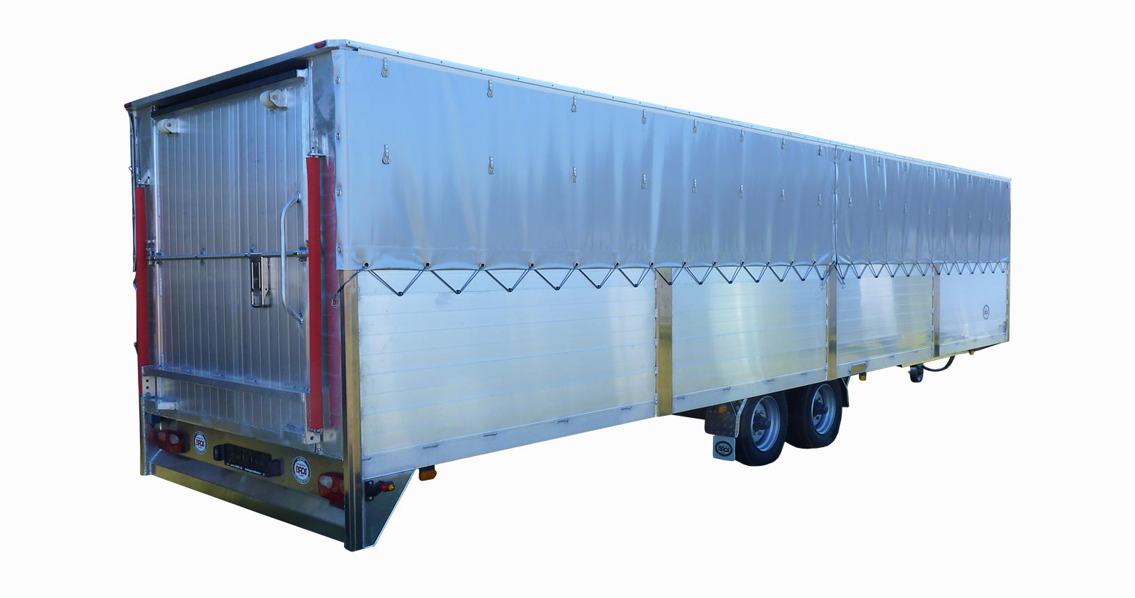 Schweinetransporter 10m Tandem